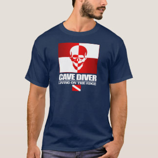 Cave Diver -Living On The Edge Apparel T-Shirt