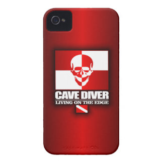 Cave Diver -Living On The Edge iPhone 4 Case