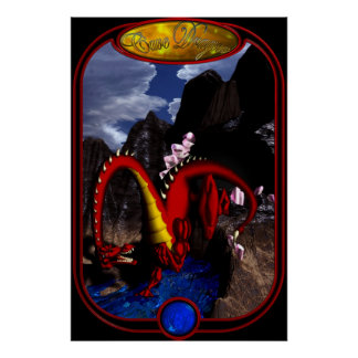 Cave Dragon Poster