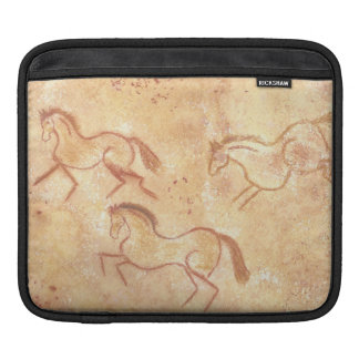 Cave Drawing Painting of Horses iPad Sleeve