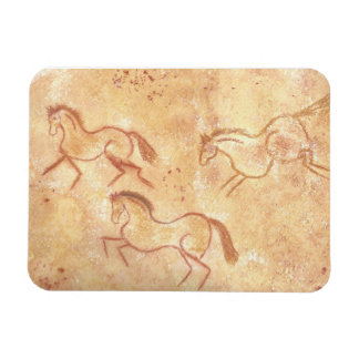 Cave Drawing Painting of Horses Magnet