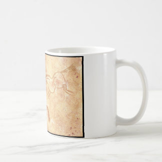 Cave Drawing Painting of Horses Mugs