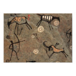Cave Drawing Pattern 5x7 Paper Invitation Card