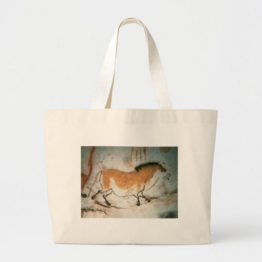 Cave drawings Lascaux French Prehistoric Drawings Canvas Bag