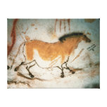 Cave drawings Lascaux French Prehistoric Drawings Canvas Print
