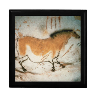 Cave drawings Lascaux French Prehistoric Drawings Keepsake Box