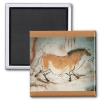 Cave drawings Lascaux French Prehistoric Drawings Magnet