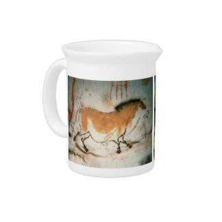 Cave drawings Lascaux French Prehistoric Drawings Pitcher