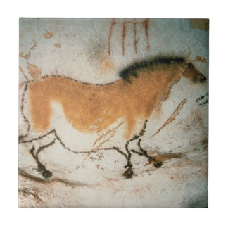 Cave drawings Lascaux French Prehistoric Drawings Tile