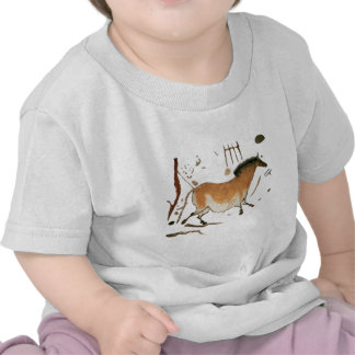 Cave drawings Lascaux French Prehistoric Drawings T-shirt