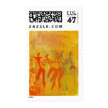 Cave Drawings of Women Postage