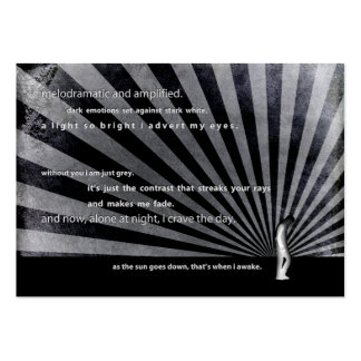 cave dweller. large business cards (Pack of 100)