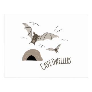 Cave Dwellers Postcard