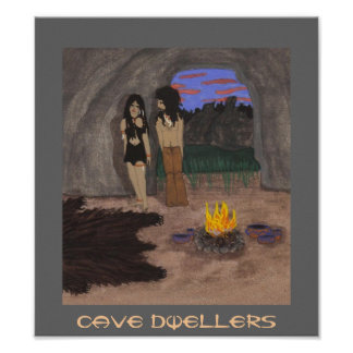 Cave Dwellers Poster