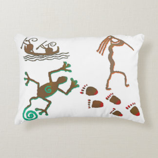 Cave Dwelling Native American Decorative Pillow