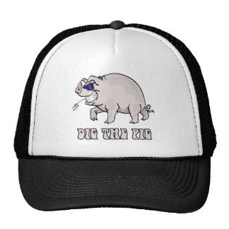 Cave el cerdo gorro de camionero
