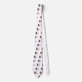 Cave el pasado corbata personalizada