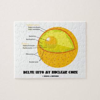 Cave en mi base nuclear (la actitud del núcleo de puzzle