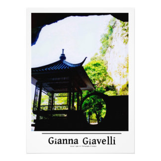 Cave Entrance Pagoda Guelin China Photo Art