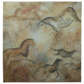 Cave Horse napkins Ancient Awakenings