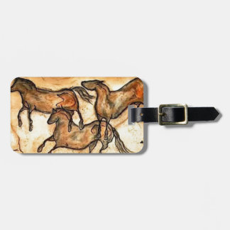Cave Horses ** Tag For Bags