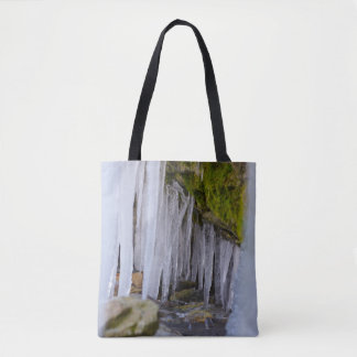 Cave Icicles Tote Bag