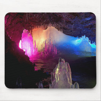CAVE IN ICELAND MOUSE PAD