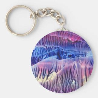 Cave Basic Round Button Keychain