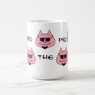Cave la taza de café del cerdo por Hogdaddee