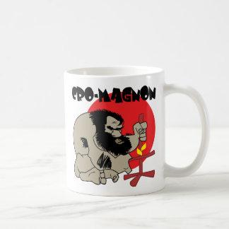 CAVE MAN COFFEE MUG