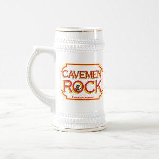 Cave Men Rock BR Coffee Mugs
