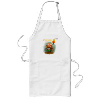 Cave Mouse and her Golden Cheese Long Apron