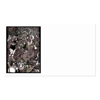 Cave of Spleen Gothic Artwork Business Card