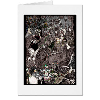 Cave of Spleen Gothic Artwork Greeting Card