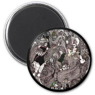 Cave of Spleen Gothic Artwork Magnet