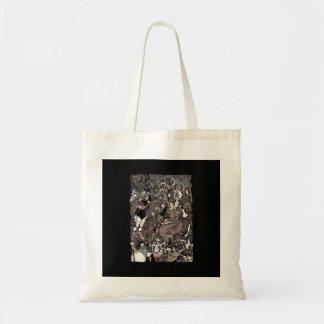 Cave of Spleen Gothic Artwork Tote Bag
