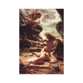 Cave Of The Storm Nymphs Gallery Wrapped Canvas