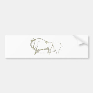 Cave painting Cave kind Bumper Sticker