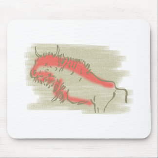Cave painting Cave kind Mouse Pads