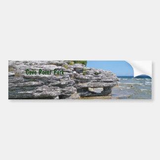 Cave Point Shoreline Bumper Sticker