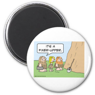 cave realty realtor fixer upper 2 inch round magnet