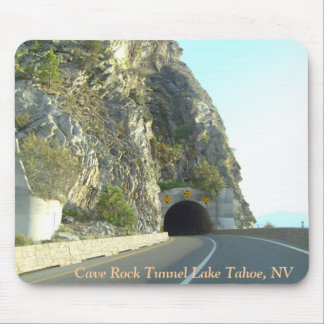 """CAVE ROCK TUNNEL"" Lake Tahoe Mouse Pad"