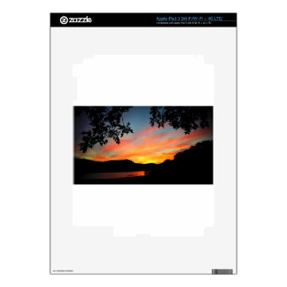 Cave Run Lake Storytelling Festival Sunset Decal For iPad 3