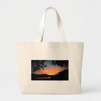 Cave Run Lake Storytelling Festival Sunset Jumbo Tote Bag
