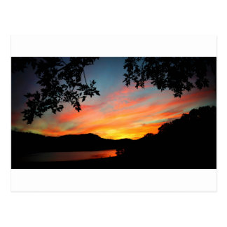 Cave Run Lake Storytelling Festival Sunset Postcard