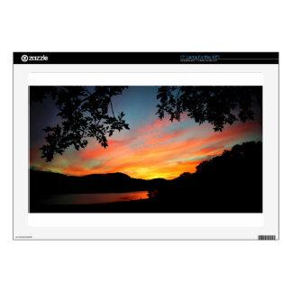 Cave Run Lake Storytelling Festival Sunset Skin For Laptop