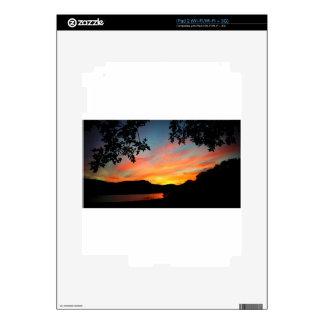 Cave Run Lake Storytelling Festival Sunset Skins For iPad 2