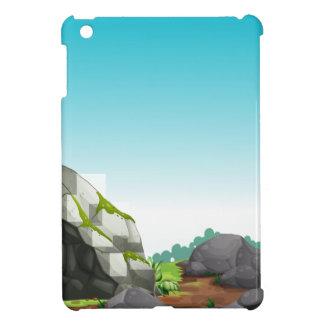 Cave scene iPad mini case