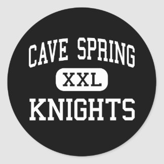 Cave Spring - Knights - High - Roanoke Virginia Classic Round Sticker