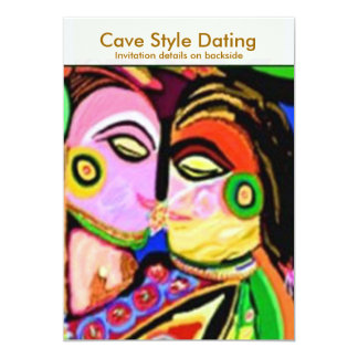Cave Style Dating Den Card